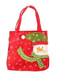 מתנה סנטה קלאוס שלג חג המולד עץ איילים יצירתי שקיות של שקיות מתנה לחג המולד בעבודת יד אופנה קישוט הבית