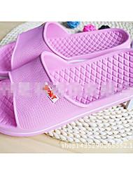Unissex-Chinelos e flip-flops-Conforto-Rasteiro-Preto / Azul / Rosa / Coral / Verde Escuro-Materiais Customizados-Casual