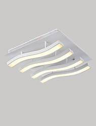 9W Montagem do Fluxo ,  Contemprâneo Pintura Característica for LED MetalSala de Estar / Quarto / Sala de Jantar / Cozinha / Quarto de