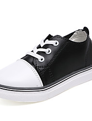 Atletické boty-PU-Pohodlné-Dívčí-Černá Zelená Červená Bílá-Běžné-Plochá podrážka