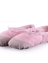 Sapatos de Dança(Preto / Rosa / Vermelho / Branco) -Feminino-Não Personalizável-Balé