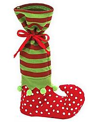 szép mikulás elf cipő csizma harisnyatartó nadrág cukorka ajándék táska karácsonyi dekoráció