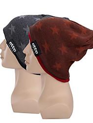 כובעים אופנייים נושם שמור על חום הגוף עמיד נוח מגן עבה נגד החלקה תומך זיעה יוניסקס אדום שחור כותנה גיזות