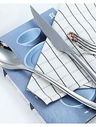 פלדת על חלד סטים לארוחות 26*15*6 כלי אוכל  -  איכות גבוהה
