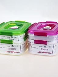yooyee značka propagační dárek pro potravinářský průmysl pp plastový stohovatelný obal na potraviny s víkem