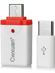 Knife® amarelo USB 3.1 Tipo C-Tipo Micro USB B / USB 3.0 0,05m (0.15Ft)
