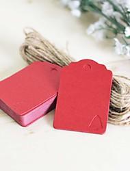 תוויות / תגיות-נושא קלאסי(חום / ירוק / אדום,כרטיס מנייר קשיח
