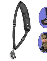 רצועה אחת כתף קלע המצלמה מהירה למצלמות SLR ניקון sony canon