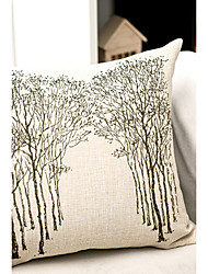 1 pcs Algodão/Linho Fronha / Almofada de Corpo / almofada do sofá,Inovador Moderno/Contemporâneo