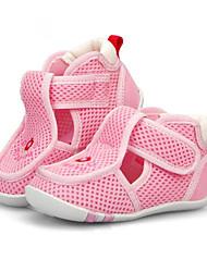 Sandály-Tyl-Sandály-Chlapecké-Modrá / Žlutá / Růžová-Outdoor-Plochá podrážka