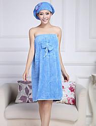 מגבת אמבטיה לבן,מוצק איכות גבוהה 100% פליס אלמוג מַגֶבֶת