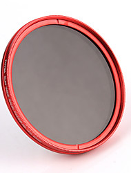 fotga® 82mm fotoaparátu fader variabilní nd šedý filtr ND2 ND8 na nd400 červená