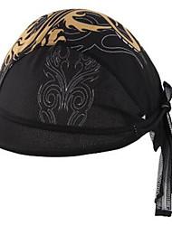 כובע סקי כובעים בנדנה אופנייים נושם ייבוש מהיר עמיד אולטרה סגול עמיד לאבק חומרים קלים נגד החלקה תומך זיעה נוח קרם הגנה יוניסקס שחור100%