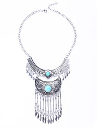 Women's Turquoise Alloy Fashion Euramerican Silver Jewelry Wedding Party Halloween Daily 1pc