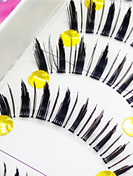 řasy Řasy Řasy plné Eyes tlusté Dodávající na objemu Ručně vyrobeno Vlákno Transparent Band 0.10mm 12mm