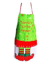 Happy Christmas schorten kerstmis koken kleding van de Kerstman kleding dining schorten diner Kerstdecoratie