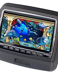 9 tommers nakkestøtten i bilen DVD-spiller-skjerm med 800x480 skjerm innebygd høyttaler støtte usb sd spill fjernkontroll