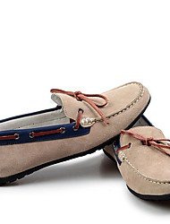 Men's Boat Shoes Moccasin Leather Casual Brown / Yellow / Green / Camel