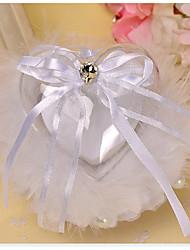 Bílá 1 Stuhy Mašle Umělé perly Satén