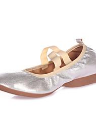 Sapatos de Dança(Preto / Prateado / Dourado) -Feminino-Não Personalizável-Balé / Latina / Jazz / Sapateado / Moderna / Salsa / Sapatos de