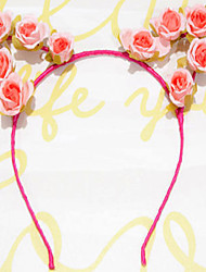 Cat Ear Headband Antlers Headband Rose Flower Headbands