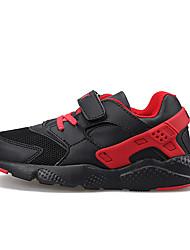 Tenisky-PU-Pohodlné-Dívčí-Černá Modrá Růžová-Outdoor-Plochá podrážka