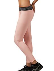 מכנסיים יוגה טייץ רכיבה על אופניים / תחתיות נושם / ייבוש מהיר / נוח / דחיסה נשמט גמישות גבוהה בגדי ספורט ורוד / כחול לנשים ספורטיבייוגה /