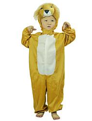 Cosplay šaty / cosplay Mikiny Inspirovaný Cosplay Bezejmenná herečka Anime Cosplay Doplňky Leotard Żółty Polyester Dítě