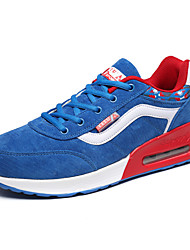 יוניסקס-נעלי ספורט-PU-נוחות-שחור כחול ורוד אדום-יומיומי-עקב שטוח