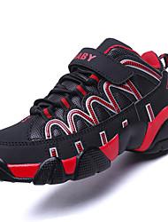 לבנים-נעלי אתלטיקה-דמוי עור-נעלי בובה (מרי ג'יין)-כחול / שחור ואדום / שחור ולבן-שטח / ספורט-עקב שטוח