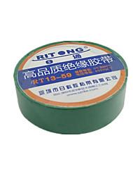 (Nota de embalagem 10 tamanho verde 800 centímetros * 1,7 centímetros *) fita isolante