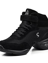 Sapatos de Dança(Preto / Roxo / Vermelho) -Feminino-Não Personalizável-Jazz