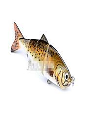 12 cm17g mnohem více než návnadu bionické jednobarevný plast sekce návnada 4 sekce falešné návnady ryby zdeformovat rty pomordují návnadu