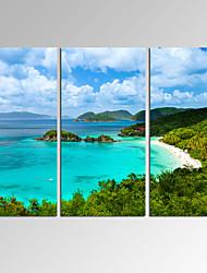 plátno Set Abstraktní krajinka Moderní,Tři panely Plátno Horizontálně Tisk Art Wall Decor For Home dekorace