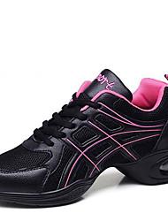 Sapatos de Dança(Preto / Branco) -Feminino-Não Personalizável-Moderna