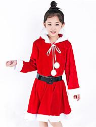 חליפות קוספליי קיבל השראה מ קוספליי שחקנית חסרת שם אנימה אביזרי קוספליי שמלה / חגורה אדום פוליאסטר Kid