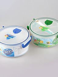 מיקרוגל חינם מזון כיתת BPA קערת צהריים בתנור עם מחיצה
