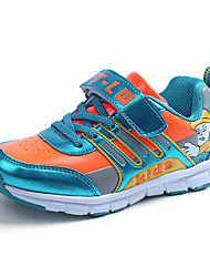 לבנות-נעלי ספורט-טול-נוחות-כחול ורוד כתום-יומיומי-עקב שטוח