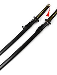 נשק / חרב קיבל השראה מ קוספליי Yukimura Chizuru אנימה אביזרי קוספליי חרב שחור עץ נקבה