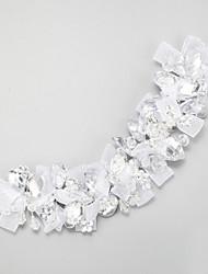 Mujer Cristal Aleación Poliéster Celada-Boda Ocasión especial Bandas de cabeza 1 Pieza