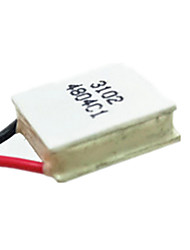 polovodičové chlazení filmu tes1-03102 15 * 15 mm 3v2a
