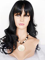 brazilské lidské vlasy krajky paruky tělesná vlnová krajka přední paruky vlasy s ofinou pro ženy