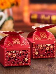 12 Stück / Set Geschenke Halter-kubisch Kartonpapier Geschenkboxen Nicht personalisiert