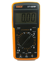 DT9205A display digital de alta precisão multímetro faixa digital