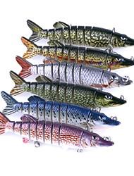 1 יח ' פיתיון קשה / פתיונות דיג פיתיון קשיח צבעים אקראיים 20 g אונקיה mm אינץ ',פלסטיק קשיח הטלת פיתיון