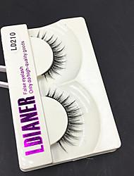999 ריסים ריס ריסים מלאים עיניים עבה מועצם עבודת יד ריסי צמר בעלי חיים Black Band 0.10mm 12mm