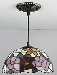 Luzes Pingente ,  Tifani Retro Pintura Característica for Estilo Mini Metal Quarto Entrada