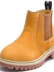 Boty-Nappa Leather-Pohodlné-Chlapecké-Modrá Žlutá-Běžné-Kačenka