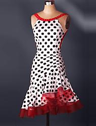 תחפושות קוספליי / תחפושת למסיבה קוספליי פסטיבל/חג תחפושות ליל כל הקדושים אדום תחרה שמלה האלווין (ליל כל הקדושים) / חג המולד / קרנבל נקבה