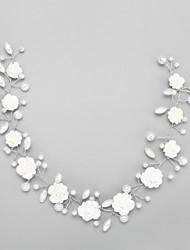 Mujer Cristal Aleación Perla Artificial Celada-Boda Ocasión especial Bandas de cabeza 1 Pieza